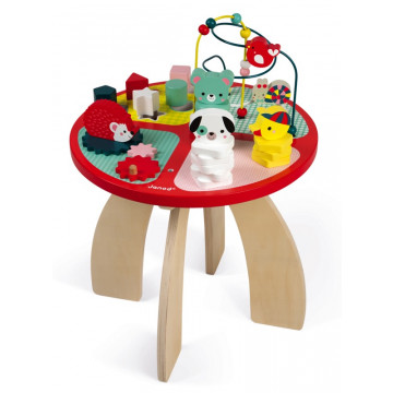 Table d'activites Baby Forest Janod BamBinou