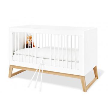 Lit bébé évolutif 70 x 140 Bridge Pinolino Produit