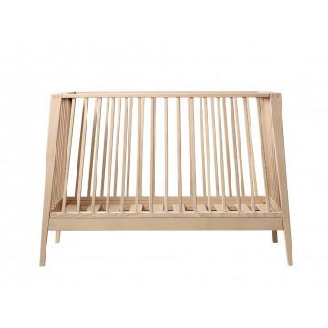 Set lit bébé Linea hêtre naturel et flèche de lit Linea 1