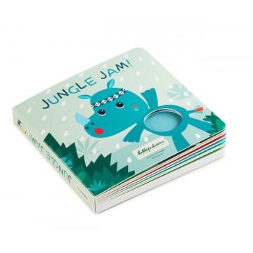 Livre tactile et sonore Jungle Jam Lilliputiens 1