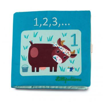 Livre en tissu à compter 1,2,3,… Lilliputiens Produit