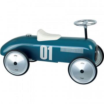 Porteur voiture vintage bleu pétrole Vilac Produit