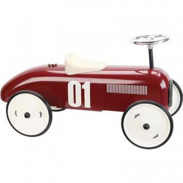 Porteur voiture vintage bordeaux Vilac Profil
