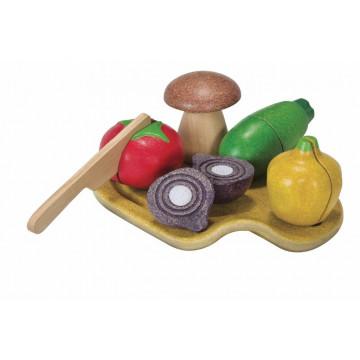 légumes à découper Plan Toys Bambinou