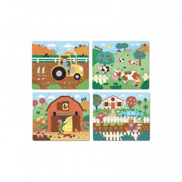 Puzzles évolutifs la ferme Vilac