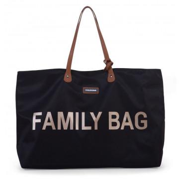 Sac à langer Family Bag Noir/Or Childhome Produit