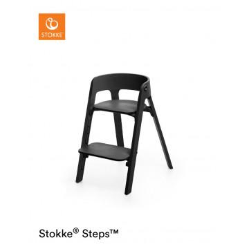 Chaise haute Steps pieds en bois de hêtre