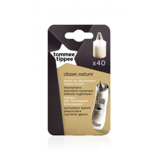 Pack 40 Embouts de rechange thermomètre auriculaire Tommee Tippee BamBinou