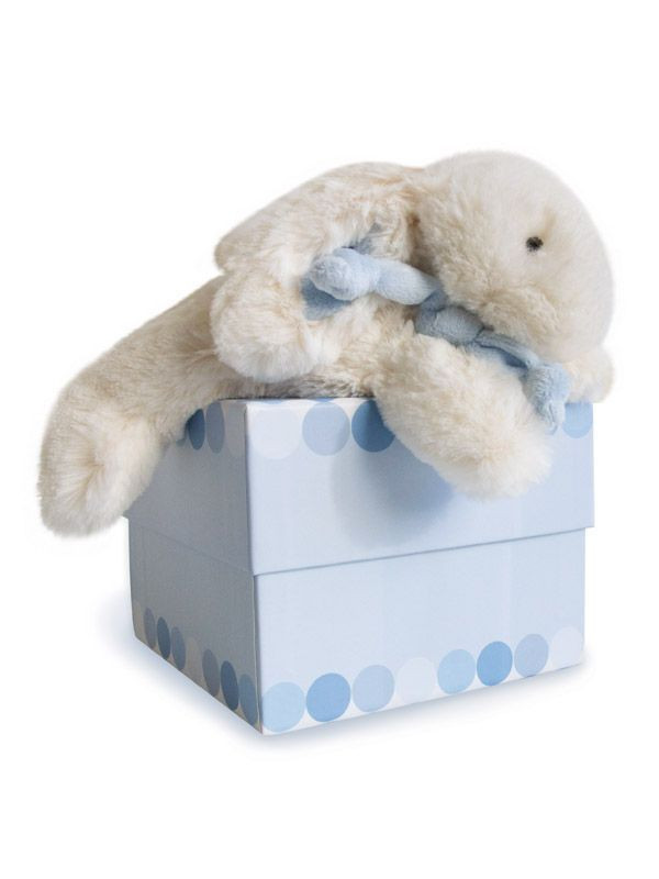 doudou lapin bonbon bleu 20 cm doudou et compagnie bambinou. Black Bedroom Furniture Sets. Home Design Ideas