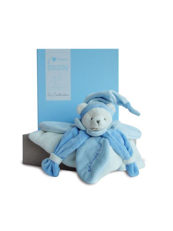 Ours bleu J'aime mon doudou - Doudou et Compagnie - Bambinou