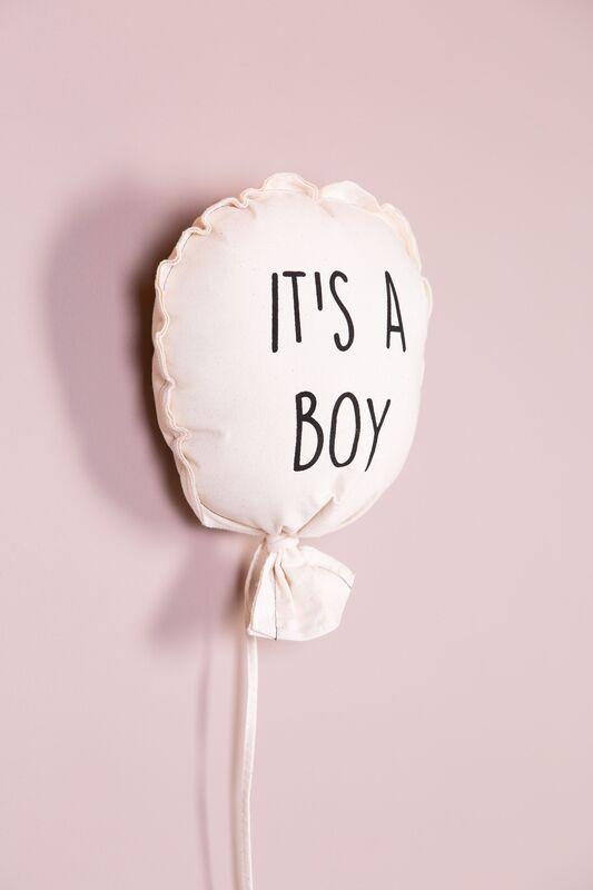 Décoration ballon en toile It's a Boy Childhome Détail