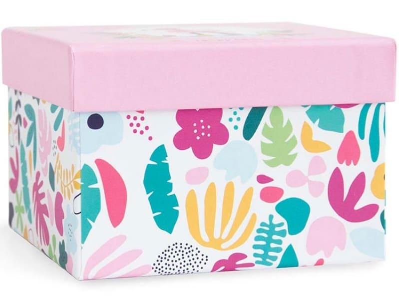 Doudou flamant rose Tropi'Cool Doudou et Compagnie Packaging
