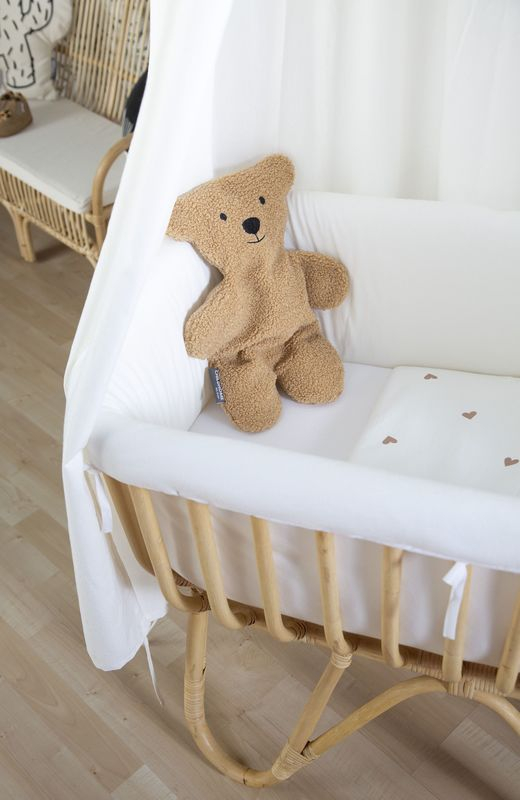 Doudou Petit Ours Brun Childhome Ambiance