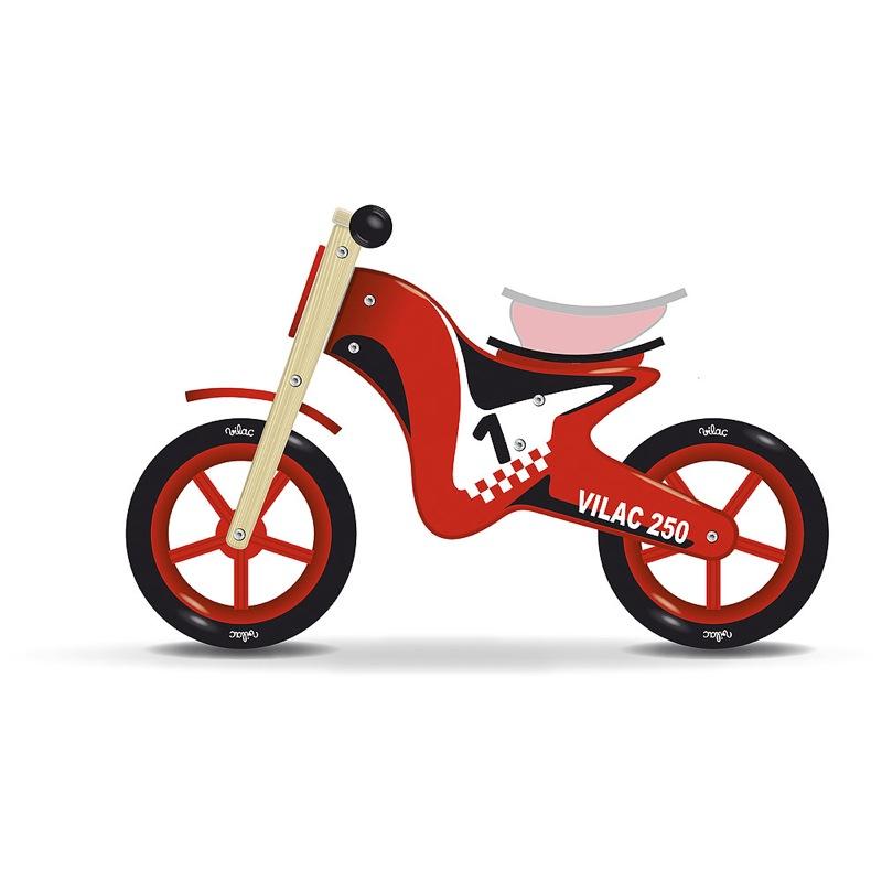 Draisienne moto en bois Vilac selle réglable