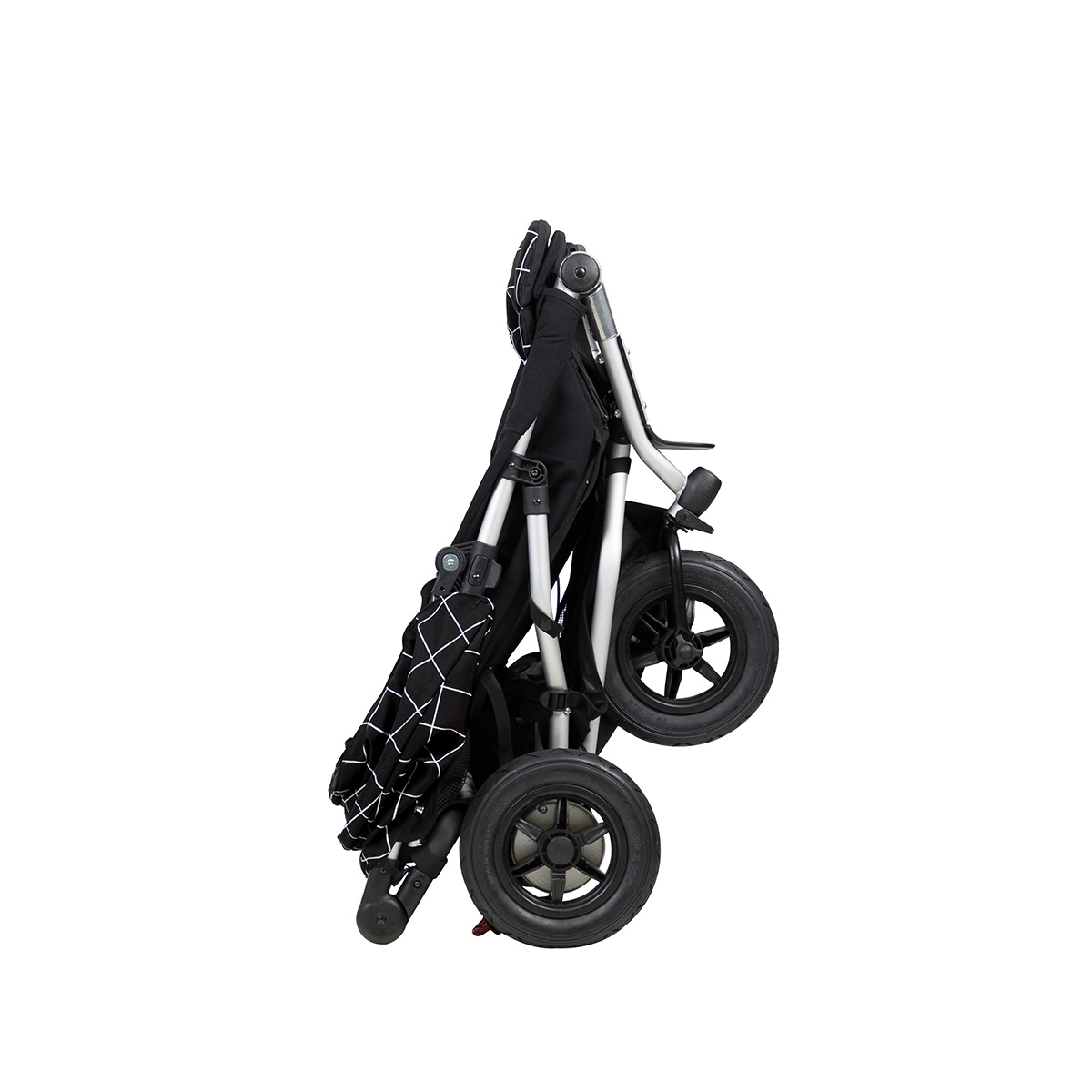 Poussette double Duet V3 Mountain Buggy pliage compact