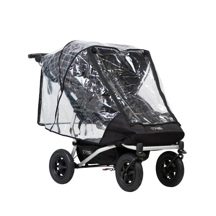 Protection pluie double pour poussette Duet V3 Mountain Buggy