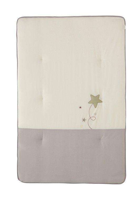edredon Couverture Pluie d'étoiles Ptit Basile BamBinou