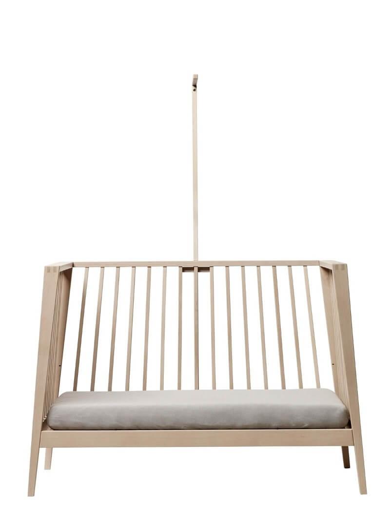 Set lit bébé Linea bois de chêne et flèche de lit Linea Leander 6