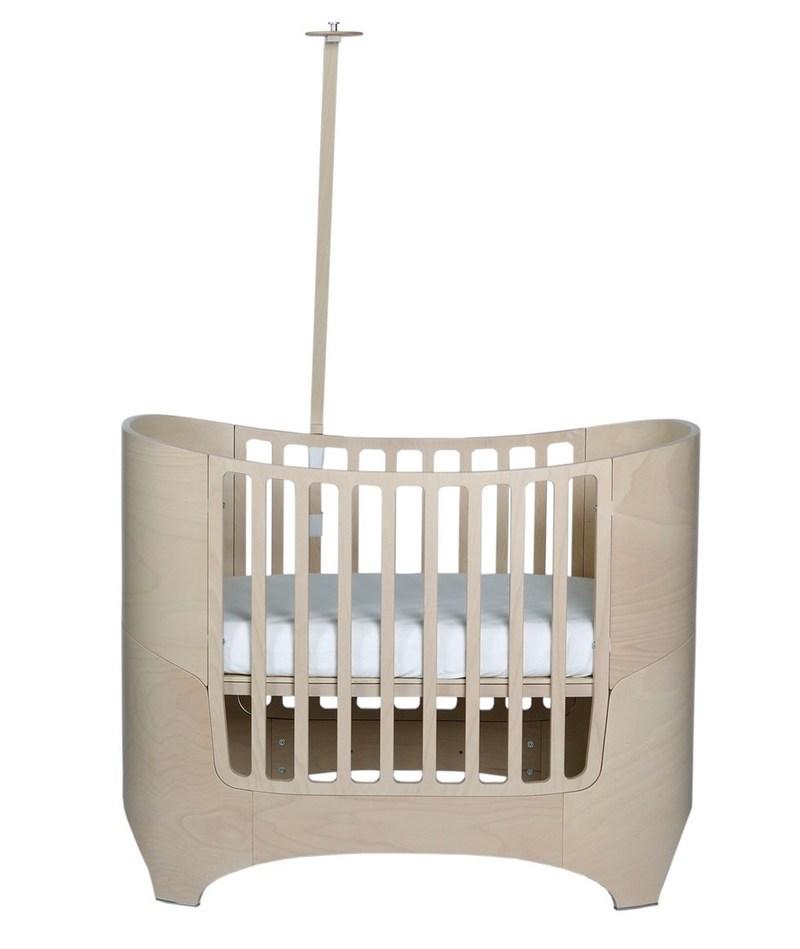Lit bébé évolutif COMFORT +7 et flèche de lit Leander 6