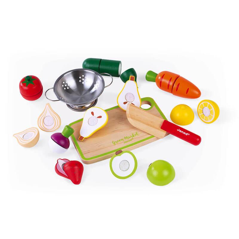 Fruits et Légumes à découper Janod Présentation