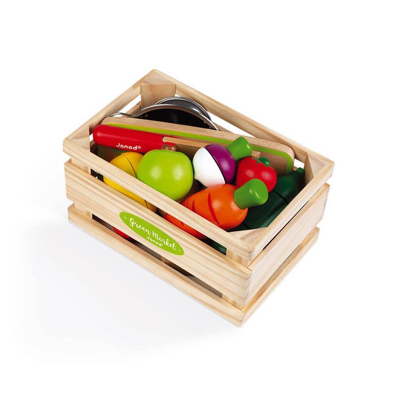Fruits et Légumes à découper Janod Caisse 1