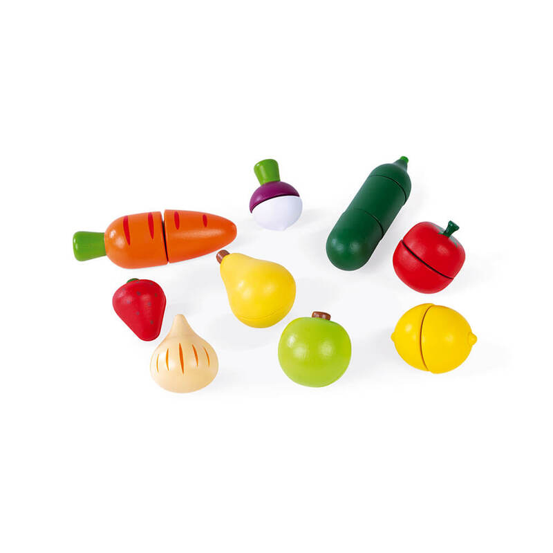 Fruits et Légumes à découper Janod Fruits et Légumes 2