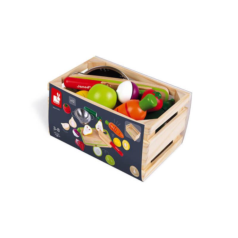 Fruits et Légumes à découper Janod Caisse 2