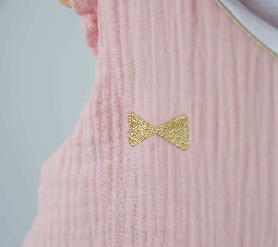 Gigoteuse hiver lange Rose jersey matelassé Candide 4