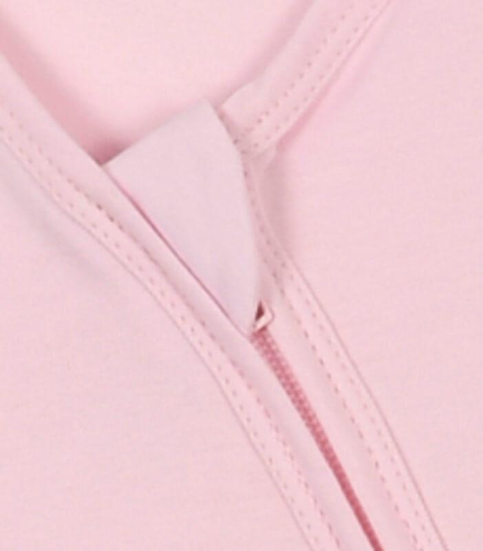 Gigoteuse été jersey 100% coton bio Rose clair Ptit Basile 2
