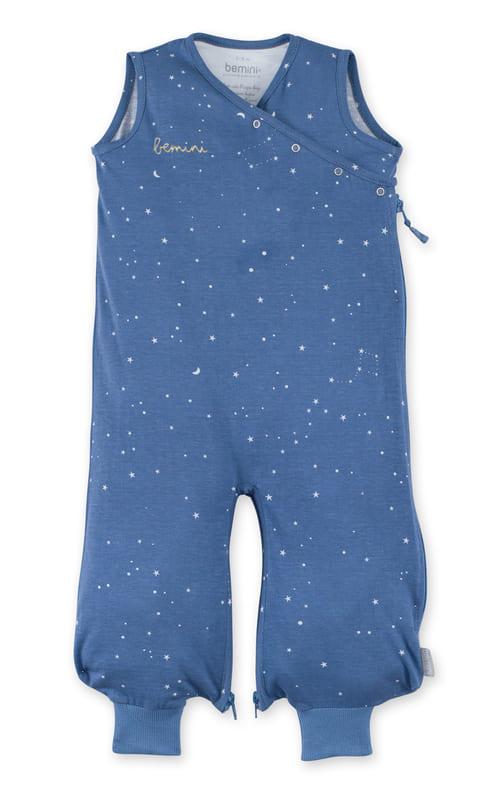 Gigoteuse été Magic Bag Stary Étoiles bleu denim Bemini