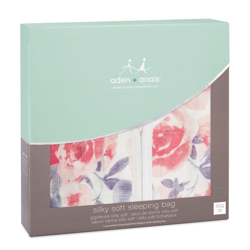 Gigoteuse été Silky Soft Watercolour Garden - Roses Aden + Anais 2