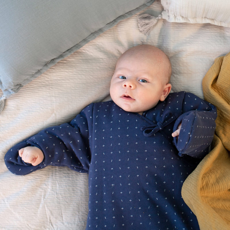 Gigoteuse hiver Magic Bag Pady Jersey Yoshi 0 - 3 mois Bemini Bébé