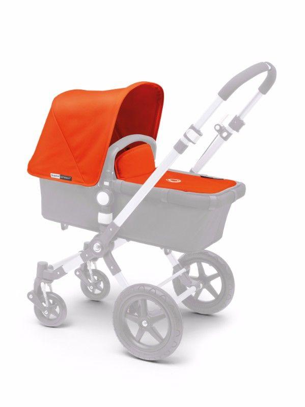 Habillage complémentaire poussette : capote tablier Cameleon 3 orange Bugaboo Bambinou