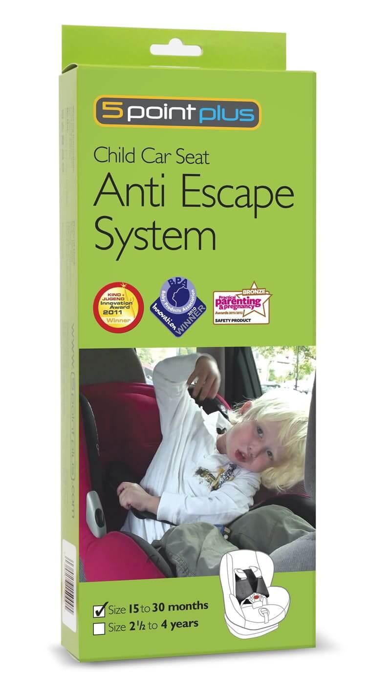 Harnais de sécurité anti-évasion 15-30 mois 5pointplus 1