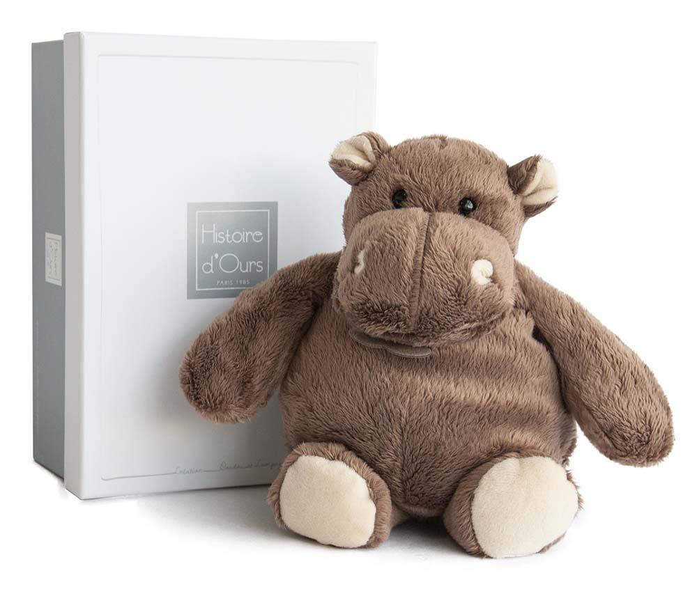 Télécharger les fichiers HO1058-Peluche Hippo 23 cm-boîte-Histoire d'ours-Bambinou