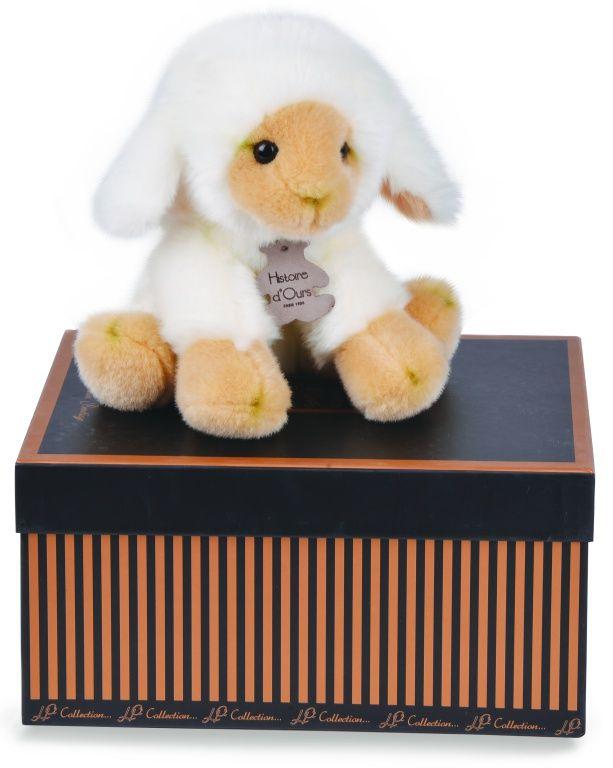 Peluche agneau les authentiques 20 cm - Histoire d'Ours - Bambinou