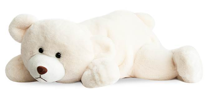 Peluche ours polaire SNOW 50 cm-Histoire d'ours-Bambinou