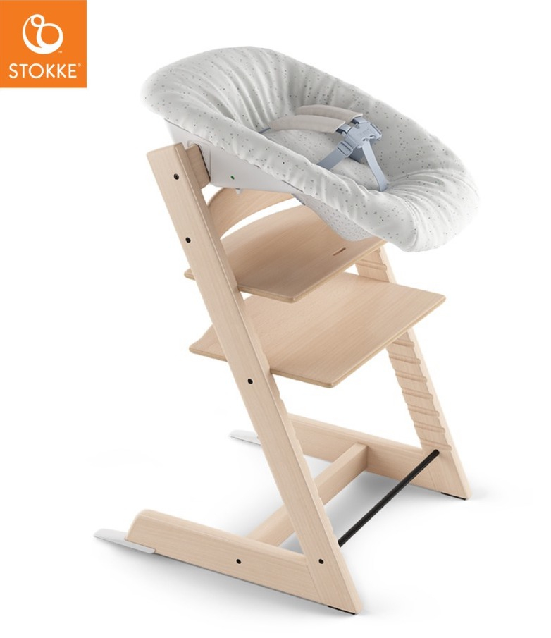 Housse réversible transat Newborn Sweet Hearts Stokke Grand