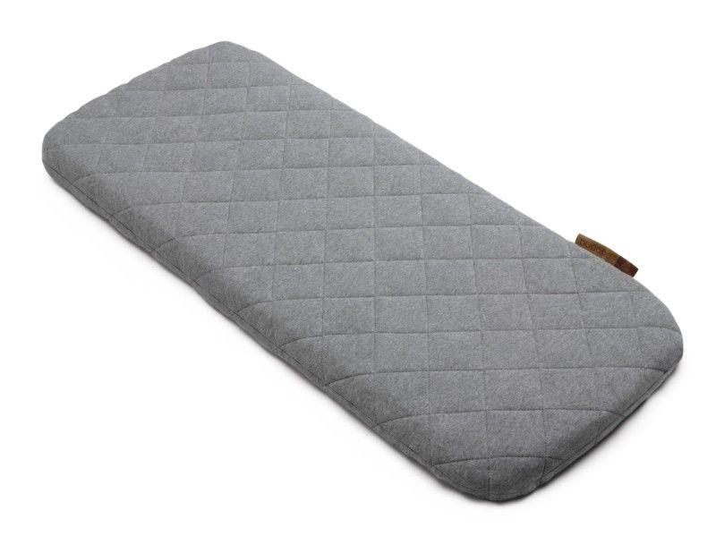 Housse de matelas nacelle laine gris chiné Bugaboo Bambinou