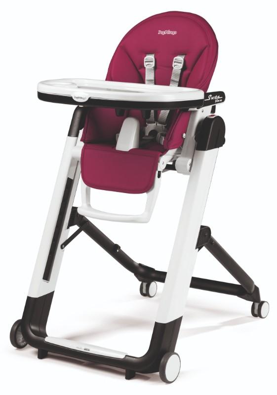 chaise haute pliante Siesta follow me peg perego berry