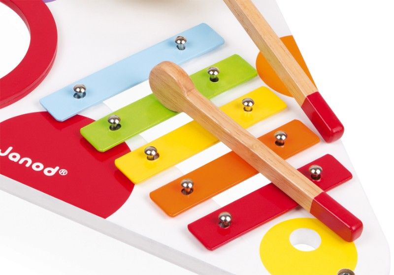 Table musicale confetti Janod xylophone
