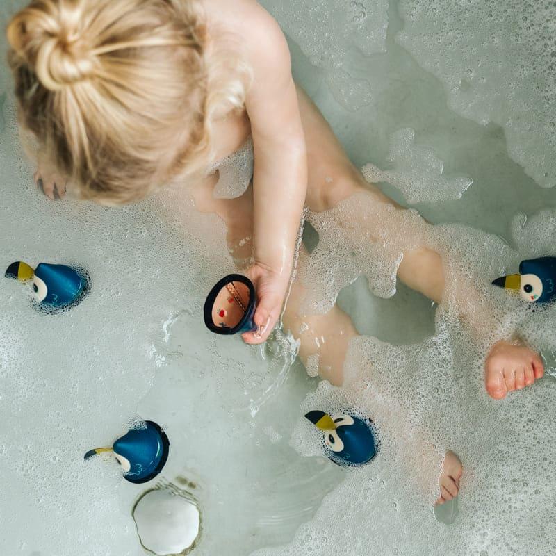 Jeu de memory de bain Pablo Lilliputiens Utilisation