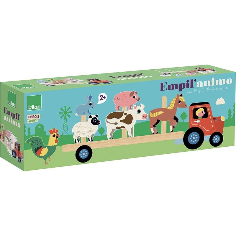 Jouet d'éveil Empil'animo Ingela P. Arrhenius Vilac Packaging