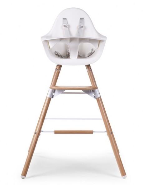 Kit de pieds long et repose pieds pour chaise haute Evolu Childhome 2