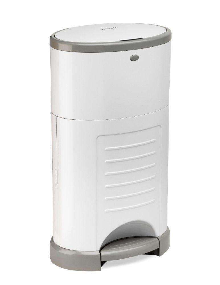 Pack poubelle à couches anti-odeurs 16L + 3 recharges Korbell de côté