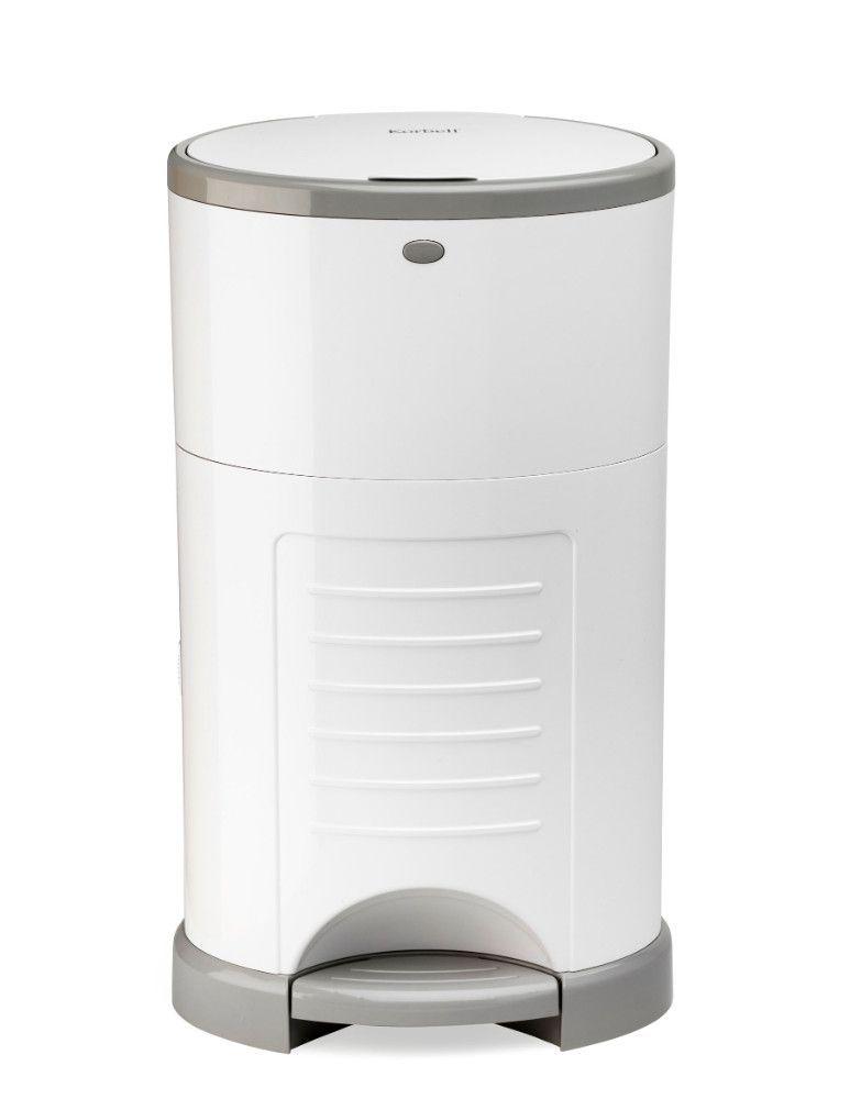 Pack poubelle à couches anti-odeurs 16L + 3 recharges Korbell de face