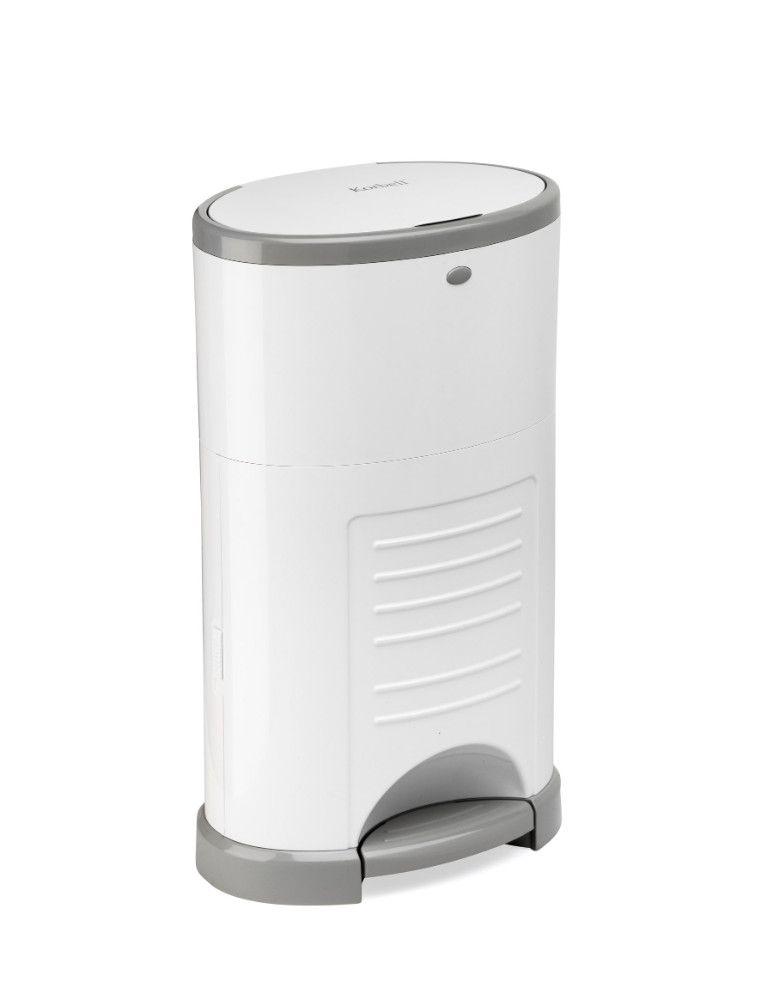 Pack poubelle à couches anti-odeurs 9L + 3 recharges Korbell de côté