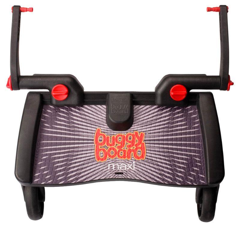 Planche a roulettes poussette BuggyBoard Maxi noir Lascal BamBinou