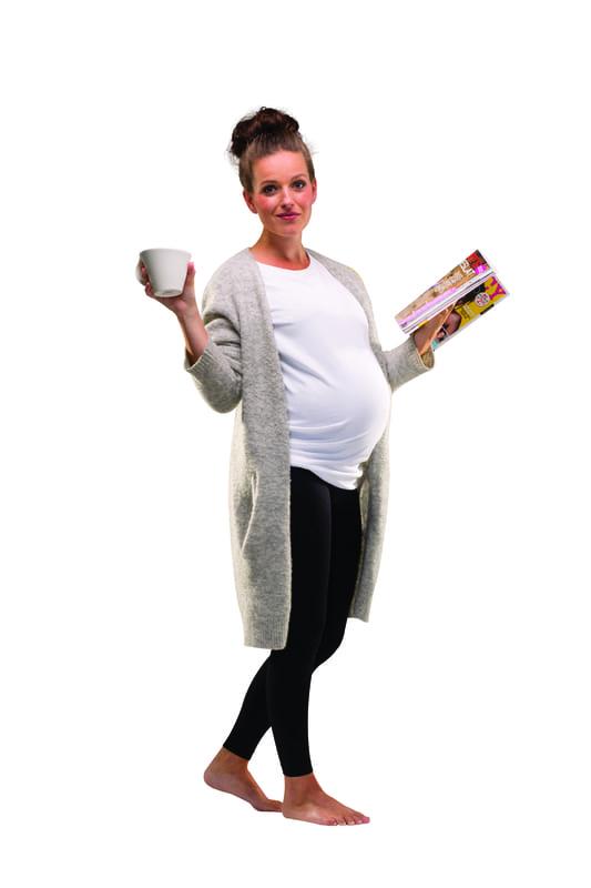 Legging de grossesse soutien et confort Noir Carriwell Relax
