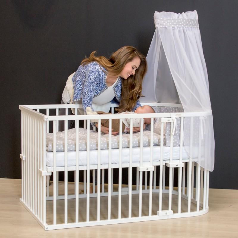Kit de conversion en lit bébé pour berceau Cododo Original Babybay en situation bébé